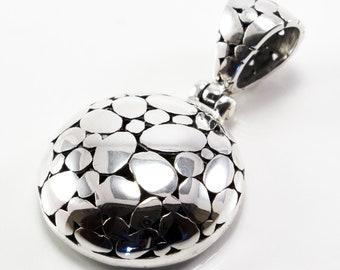Balinese Silver Jawan Pendant