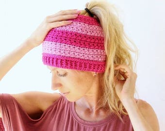 PATTERN ONLY - Lucky Stars Beanie