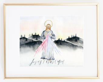 Jesus I trust you/ Divine Mercy