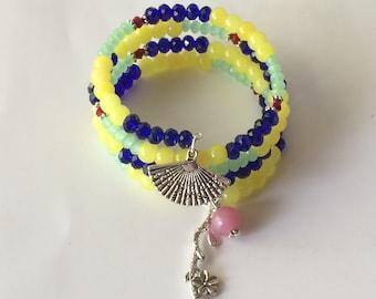 Mulan Bracelet, Disney's Mulan Bracelet, Adult Mulan Bracelet, Mulan Jewelry, Disney Jewelry, Wrap Bracelet, Disney Princess, Mulan