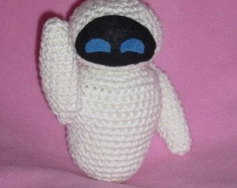 Eva robot amigurumi crochet pattern PDF wall-e
