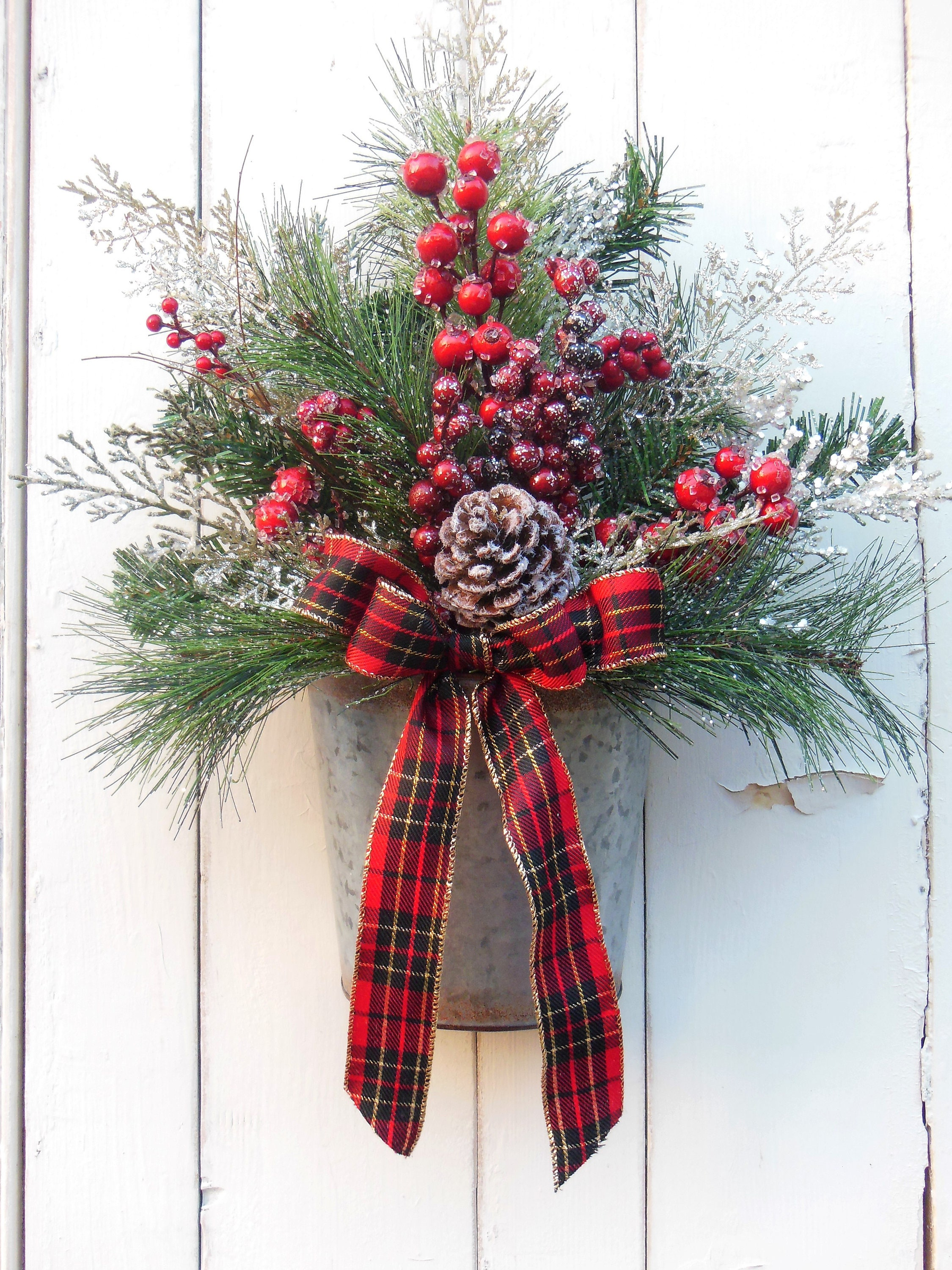 com wreath doors scrapheap door archives christmas with decorating wreaths for challenge ideas best