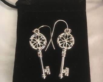 Keys to the heart earrings