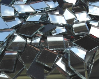 Mosaic Tiles - Mirror Confetti - Glass Mirror Tiles