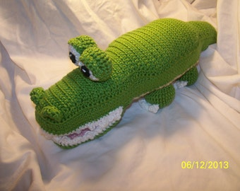 Crochet alligator ANY colors you want