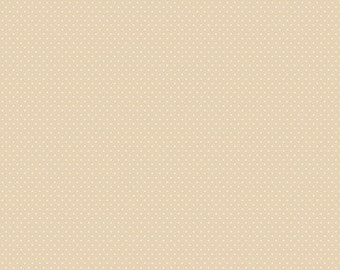 Verna Mosquera, Autumn Grace, Pretty Pindot, Sugar, beige, tan, dots, Free Spirit