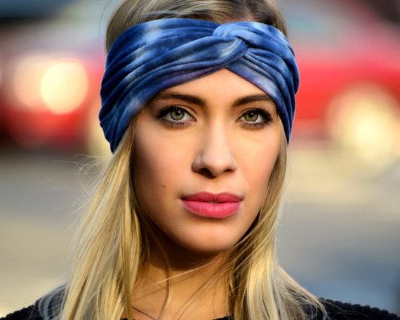 Tie-dye headband