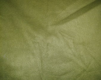 Green Fleece Fabric