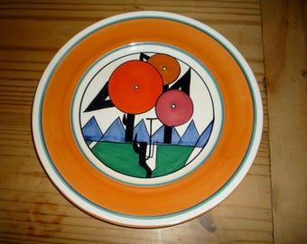 MMA Clarice Cliff Art Deco Plate