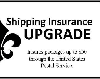 Shipping Insurance Upgrade