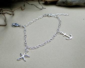 Hengistbury Seaside Charm Bracelet