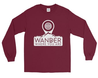 """WWYA """"Waypoint"""" Long Sleeve T-Shirt  (Launch Special 20% off)"""