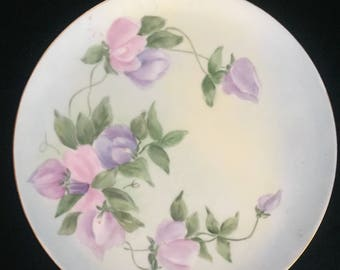 Hand painted Haviland Limoges Plate