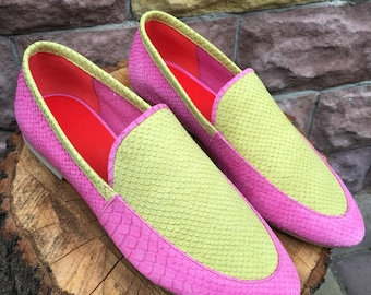 Leather loafers women, flats women,leather shoes women, slip ons, loafers, moccasins, summer shoes, comfortable slip on shoes