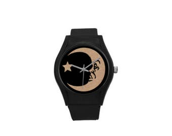 Ouija Moon Plastic Watch