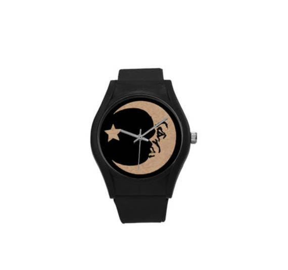 Ouija Moon Plastic Watch