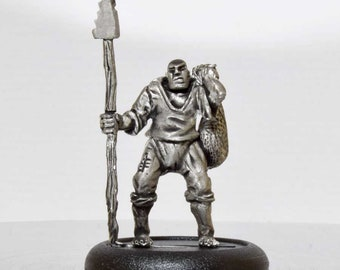 Fisherman Miniature -  28mm Unpainted - AD01
