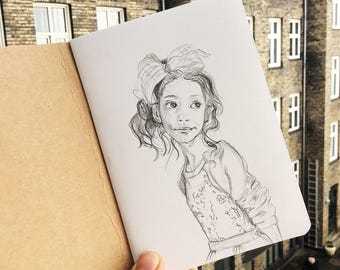 Pencil Sketch Custom Portrait