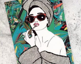 Lipgloss Illustration- fashion wall art print