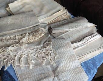 Handmade towel natural fiber