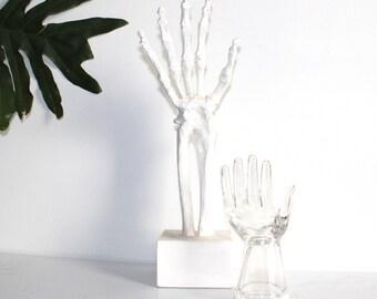 Glass 'Hand' Display