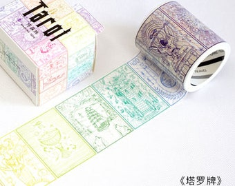 Tarot cards washi tape