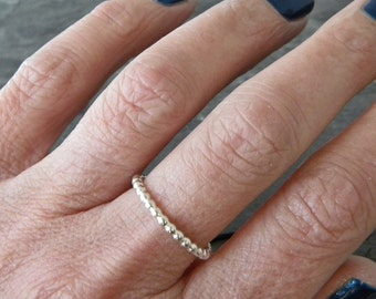 Dainty Silver Ring - Petite Ring - Thumb Rings for Women - Silver Thumb Rings - Simple Silver Ring - Silver Stacking Ring - Size 3 - 14