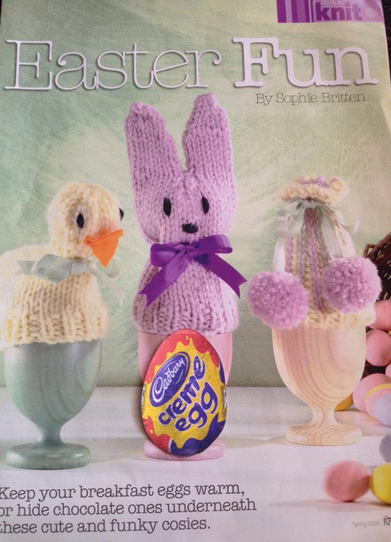 Easter Cadburys Creme Egg Covers Easter Egg Cosies Knitting