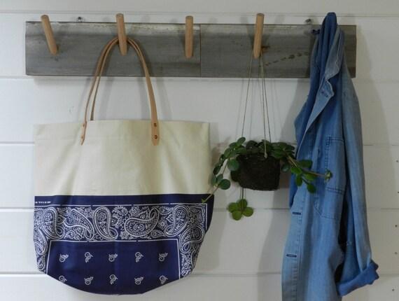 SALE Bandana Market Bag