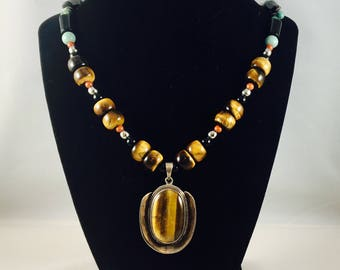Tiger's Eye Special Pendant