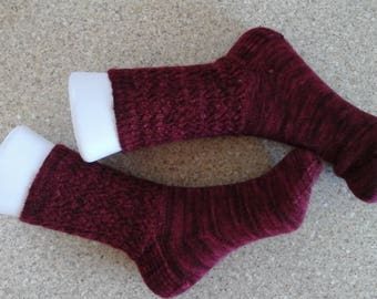 Ladies Hand Knitted Socks