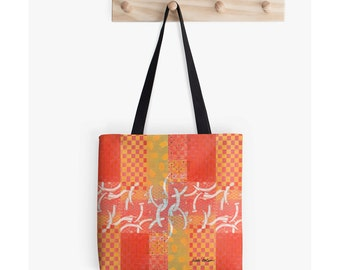 Carry All Bag, Bookbag or Book Bag, Supplies for Back to School, Good Gifts for Artists, Back to School Student Gifts, Beach Tote Bag