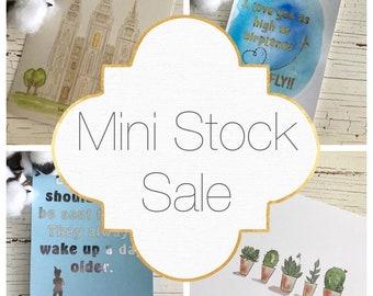 Mini Stock Sale