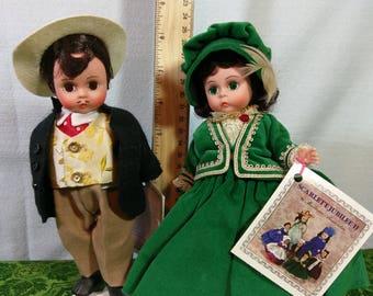 Scarlett and Rhett by Madame Alexander