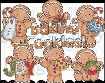 Gingerbreads Bake Cookies