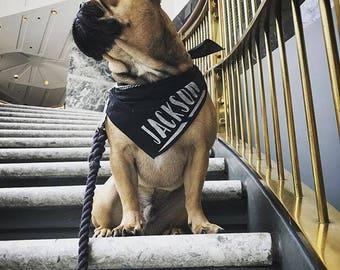 CUSTOMIZED NAME Bandana, Dog/Cat Bandana, Pet Bandana, Dog Gift, Cat Gift, Pet Gift, Dog Accessories, Cat Accessories,Dog, Cat, Pet,