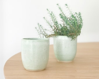 Minty Green Cup