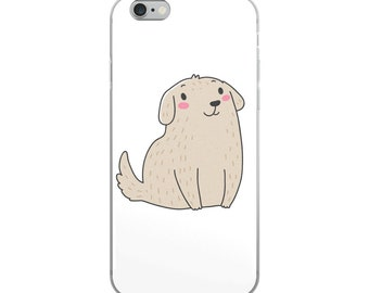 Cute Puppy iPhone Case - iPhone 7/8 case, 7 Plus case, 8 Plus case, iPhone X case, iPhone 6 case, 6s case, 6 Plus case, 6s Plus case