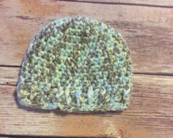 Preemie hat pattern