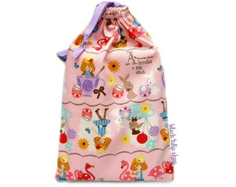 Planner Bag Pouch For Personal Planners Alice In Wonderland Bag Party Favor Decorations Kawaii Fairy Kei Bags For Girls Room