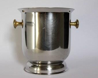 Elegant Vintage Champagne Bucket, Champagne Cooler