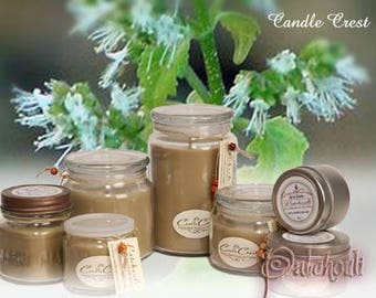Patchouli Candles - Scented Candles- Soy Candles -Eco Friendly - 100% Soy Wax