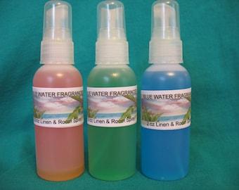 BALSAM AND CEDAR  Linen, Room & Car Spray Fragrance Oil  2oz
