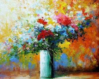 Wall Decoration, Multicolored Bouquet - Collection 2018