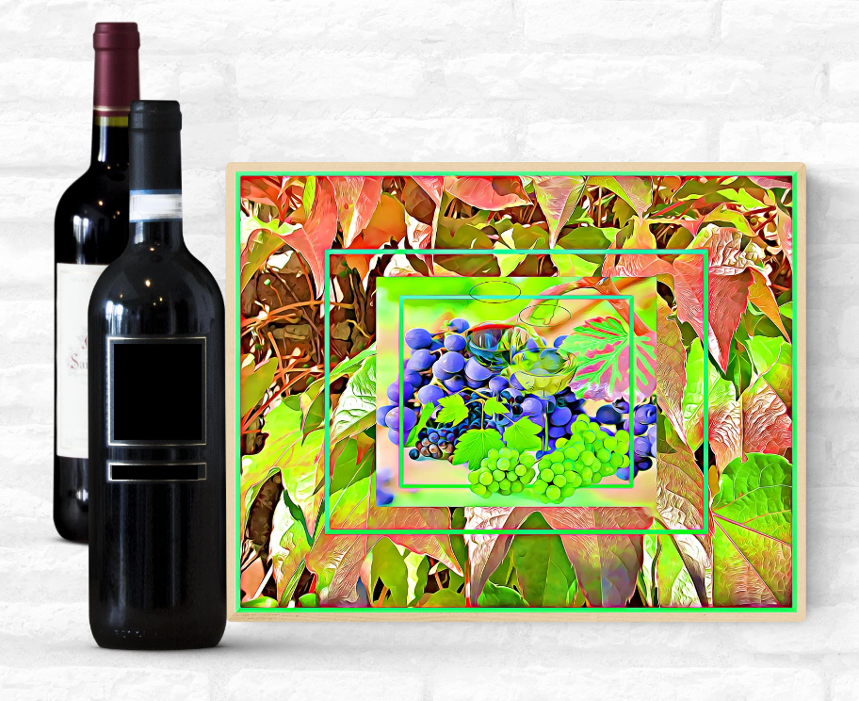 Wein Wandkunst Wein Wand-Dekor Wein Kunst Wein