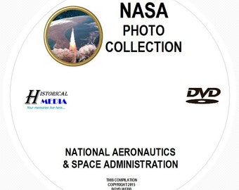 NASA Photo Collection - 2,073 Photos On 1 DVD In .jpg Format - Most Images Are Greater Than 1MB In Size