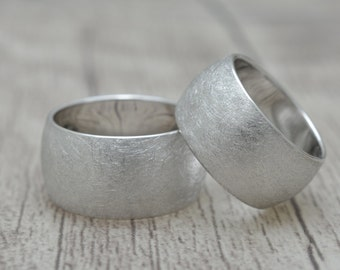 2 partner rings, friendship rings with engraving, pair of rings with engraving