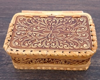 wooden jewelry box, gift box, rustic organizer, treasure keeper, wooden carved box, mother of groom gift, keepsake box, country storage