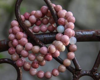 Rhodonite Stone Bracelet