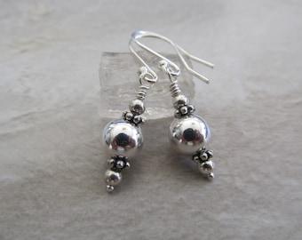 Sophisticated Boho, Sterling Silver Earrings